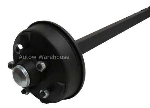 Trailer Axle - Solid Beam Braked: 1900kg