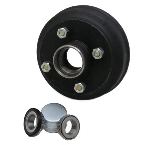 "Trailer Brake Drum - Peak: 160 x 35 - 4 stud 4"" PCD"