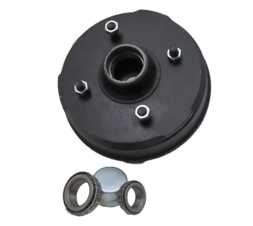 "Trailer Brake Drum - Peak: 203 x 40 - 4 stud 5.5"" PCD"