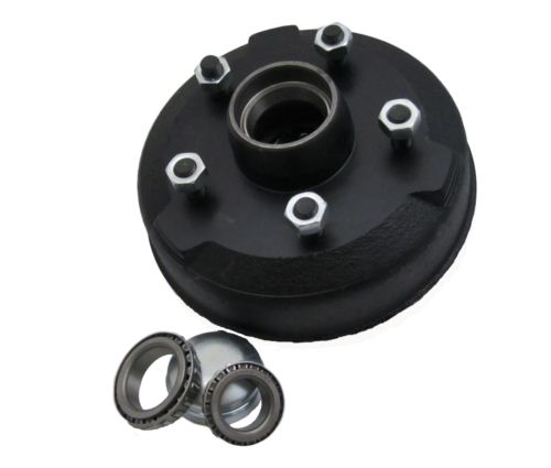 "Trailer Brake Drum - Peak: 250 x 40 - 5 stud 6.5"" PCD"