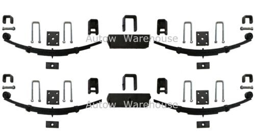 Trailer Leaf Springs - Slipper End - 3000kg capacity/set