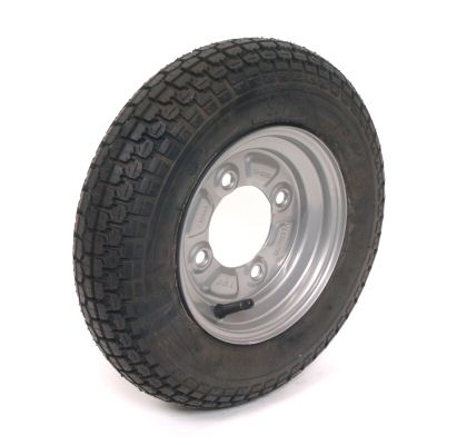 Trailer Wheel: 350x8 4ply 4x115mm pcd