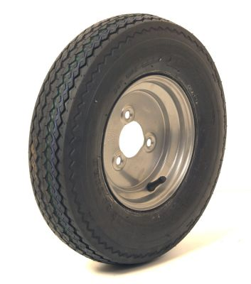 Trailer Wheel: 400x8 4ply 3 x 88.5 mm pcd