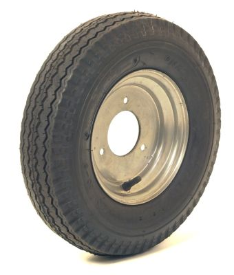 Trailer Wheel: 400x8 4ply 3x110mm pcd