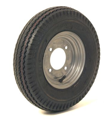 Trailer Wheel: 400x8 4ply 4x115mm pcd