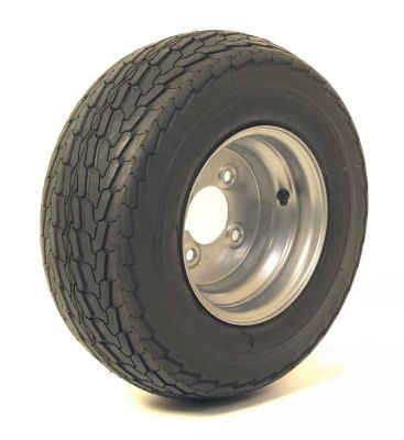 "Trailer Wheel: 650x8 6ply 4x4"" pcd"