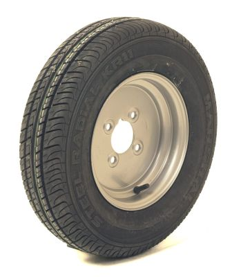 "Trailer Wheel: 145x10 4ply 4x4"" pcd"