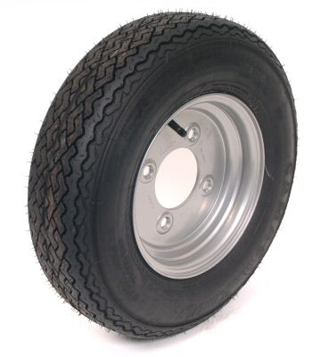 "Trailer Wheel: 145x10 8ply 4x5.5"" pcd"