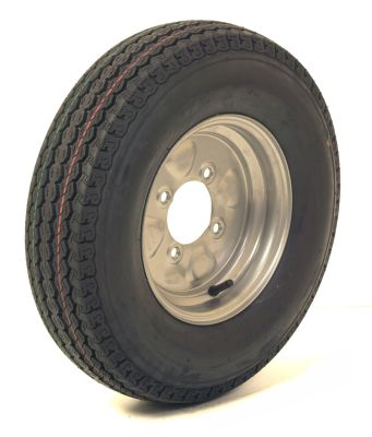 Trailer Wheel: 500x10 4ply 4x115mm pcd