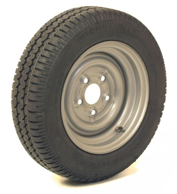 Trailer Wheel: 155/70x12 5x140mm pcd