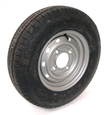"Trailer Wheel: 175x13 8ply 4x5.5"" pcd"
