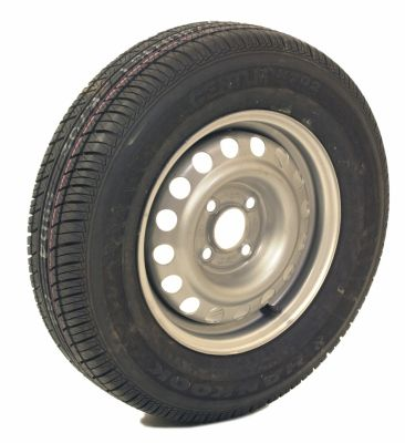 Trailer Wheel: 165x13 4ply 4x100mm pcd