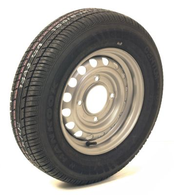 "Trailer Wheel: 165x13 4ply 4x5.5"" pcd"