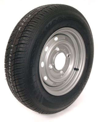 "Trailer Wheel: 165x13 8ply 4x5.5"" pcd"