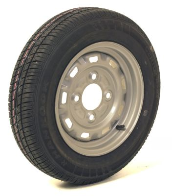 Trailer Wheel: 145x13 4ply 4x115mm pcd