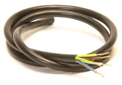 Trailer Cable: 7 Core Black (12n) - per metre