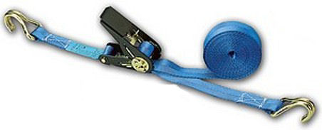 Ratchet Strap - Autow: 25mm x 5M with 'J' hooks