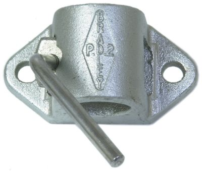 Trailer Clamp - Cast - Bradley: 43mm