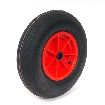 "Trailer Wheel: 16"" Pneumatic - plastic rim"