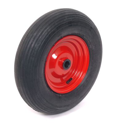 "Trailer Wheel: 400 x 8 Rib - 1"" Needle Roller Bearing"