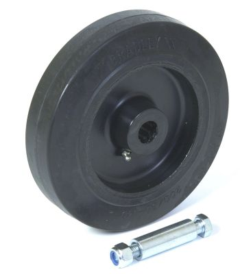 Trailer Jockey Wheel Spare - Bradley: 200x50mm Heavy Duty