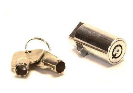 Trailer Coupling Lock - Barrel Lock - Bradley: 4 keys