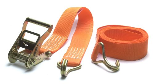 Ratchet Strap - SpanSet: 50mm x 4M - Hook ends