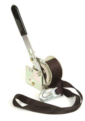 Trailer Winch Manual - Dutton: 400lbs with Strap