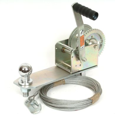 Caravan Winch Kit - Dutton: 1400lbs with Cable