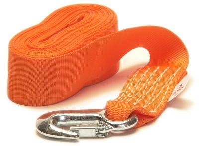 Winch Strap with Snap Hook - 50mm x 6M