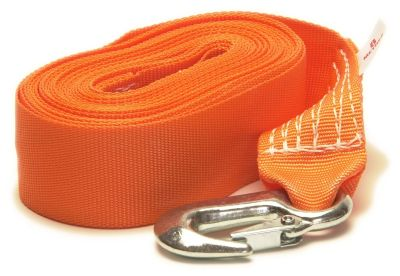 Winch Strap with Snap Hook - 50mm x 8M