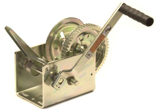 Trailer Winch Manual - Dutton: 2500lbs - Braked