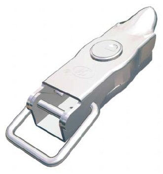 Trailer Latch Overcentre with Lock - Autow: 102mm