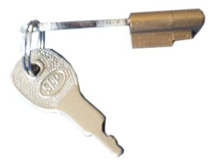 Trailer Coupling Lock - Autow: 2 keys
