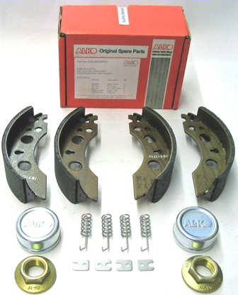 Trailer Brake Shoe Service Kit - AL-KO: 200x50 A/R