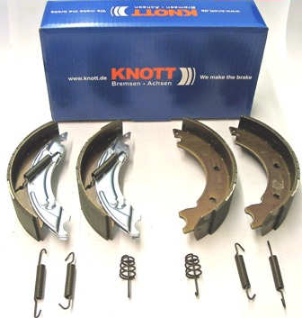 Trailer Brake Shoe - Axle Pack - Knott: 200x50 A/R