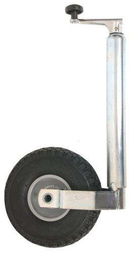 Trailer Jockey Wheel 48mm Budget: Pneumatic wheel