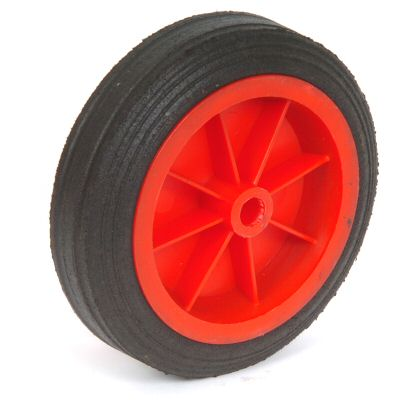 Trailer Jockey Wheel:  spare wheel 150mm - plastic rim