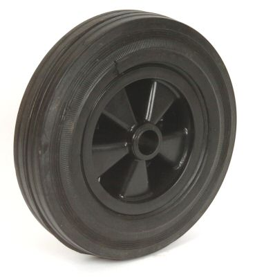 Jockey Spare Wheel: 200mm - plastic rim