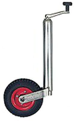 Trailer Jockey Wheel 48mm - Autow: includes Clamp