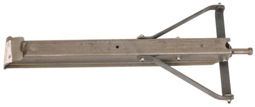 "Trailer Corner Jack: 15"" Plain Steel"