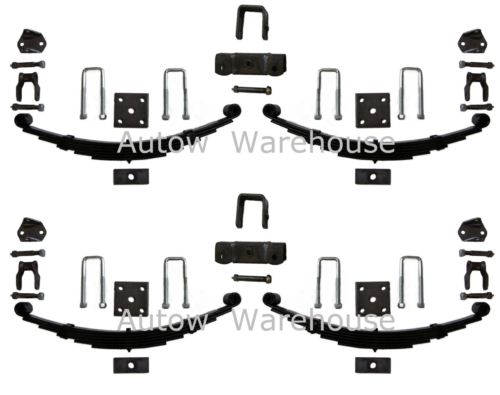 Trailer Leaf Springs - Double Eye - 1800kg capacity/set