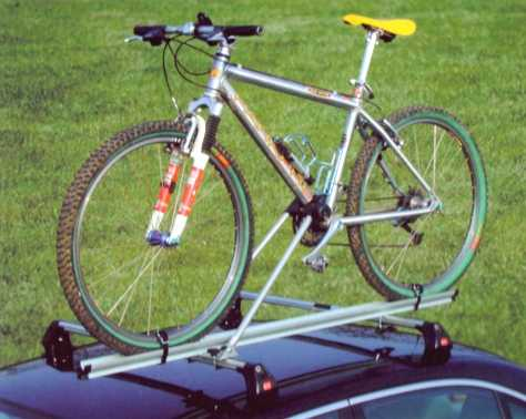 Cycle Carrier - Roof Bar - Fabbri:  Bici 2000 Alu - Lockable