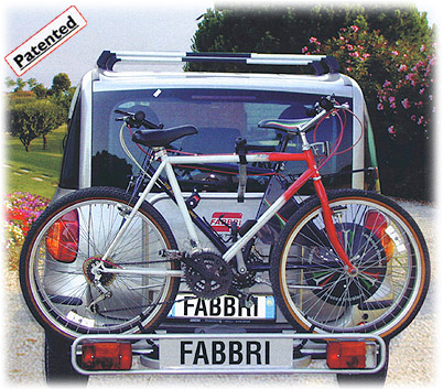 Cycle Carrier- Ball-Mount - Fabbri: Bici Exclusiv 3