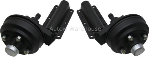 Flexiride Suspension Units (pair): 900kg 160x35 Braked