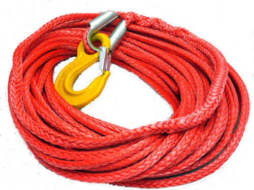 Armortek Synthetic Winch Rope - 11 mm X 25 M