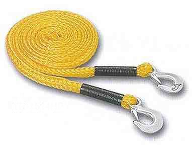 Emergency tow rope 4m c/w Forged Hooks