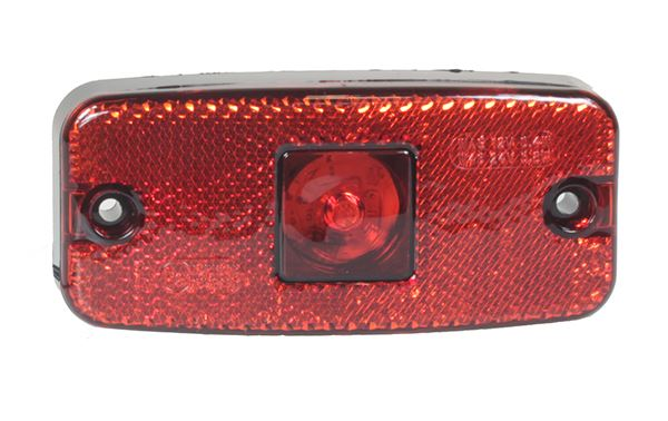 Trailer Light LED - Red Rear Marker