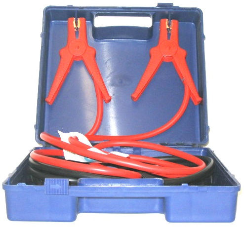 Booster Cables: 2.5m - 250 Amp with Storage Case