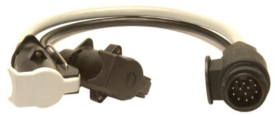 Trailer Socket - Conversion Lead: 13pin to 12N & 12S